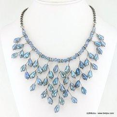 collier 0116714 bleu
