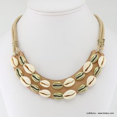 collier 0117028 naturel/beige