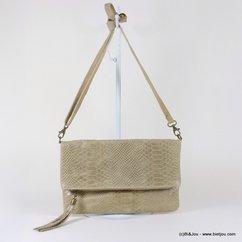 sac à main 0917035 gris clair