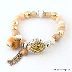 bracelet 0217002 naturel/beige