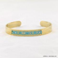 bracelet ouvert acier inoxydable 0217094