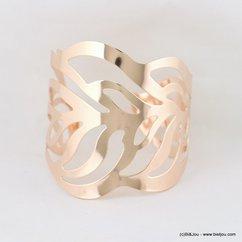 bracelet manchette métal ajouré 0217149