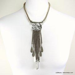 collier style antique 0117594 bronze