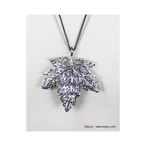 collier 0113788 feuille