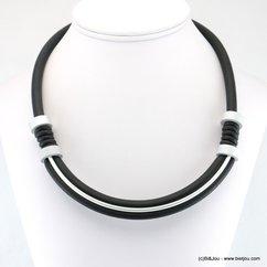 collier silicone gomme caoutchouc 0117949