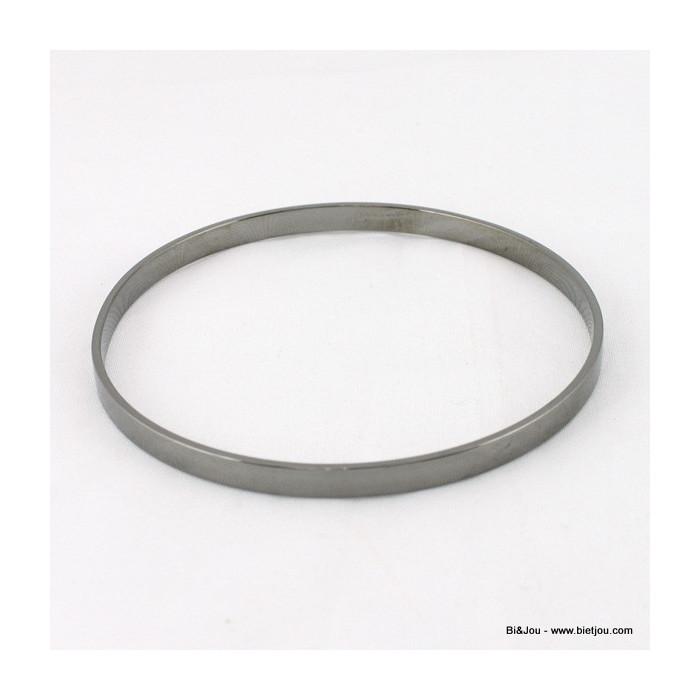 Bracelet jonc fin métal