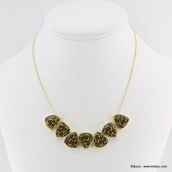 collier 0113361 marron