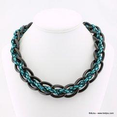 collier 0113570 bleu
