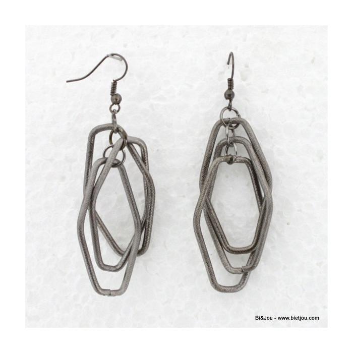 Boucles d'oreille Rock métal