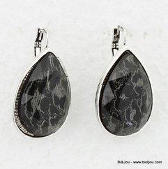 boucles d'oreille 0312583 noir