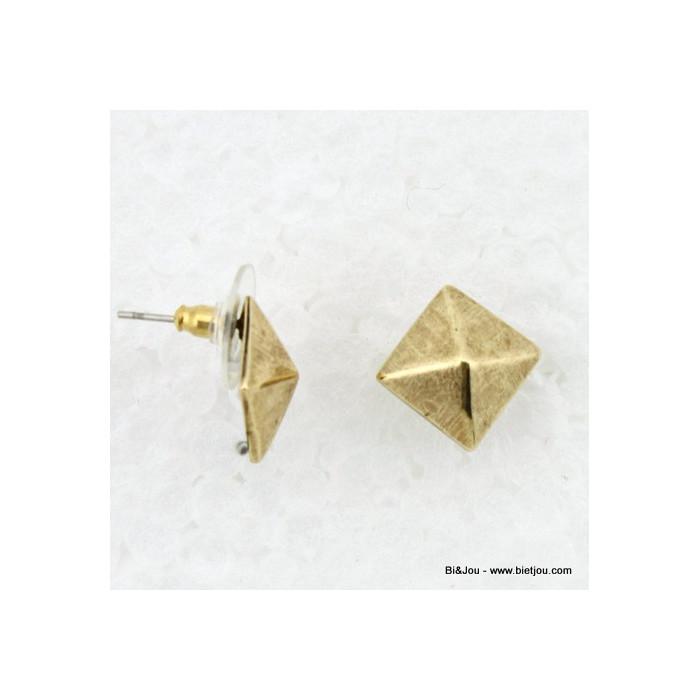 Boucles d'oreille style chic femme 0312586