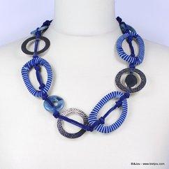 collier 0110087 bleu