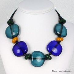 collier 0112523 bleu