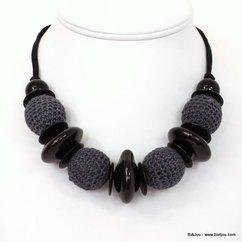 collier 0111034 noir