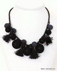 collier 0111037 noir