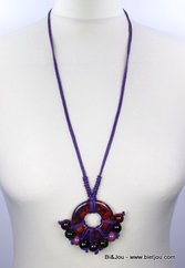 collier 0112509 violet