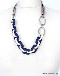 collier 0110122 bleu